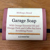 Garage Soap with orange and cinnamon essential oils
