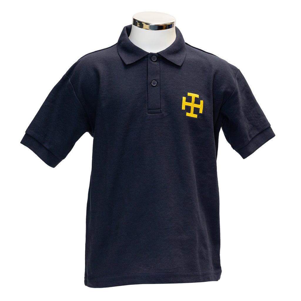 CPS Navy Crest Polo Shirt (Boys & Girls)