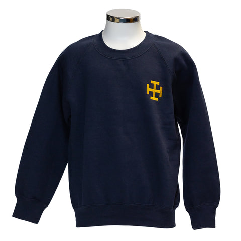 CPS Navy Crest Sweatshirt  (Boys & Girls)