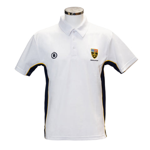 CS Boys Multi-Sport Polo Shirt White