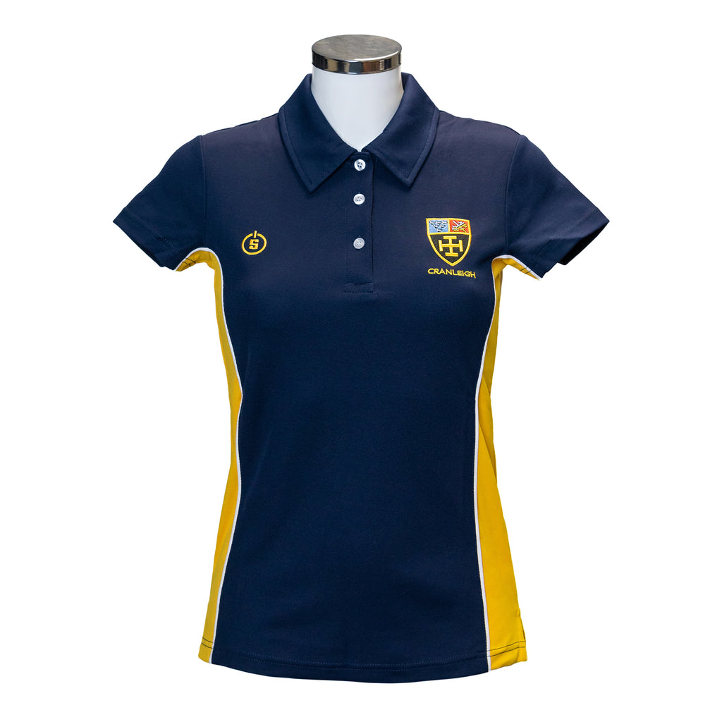 CS Girls Navy Multi Sport Polo Shirt