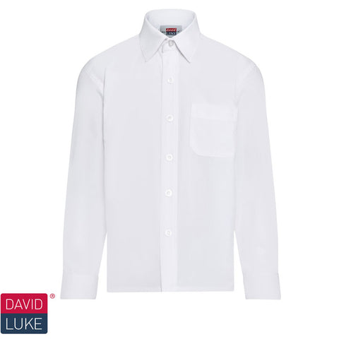 CPS Boys Single White Shirt (1 per pack)