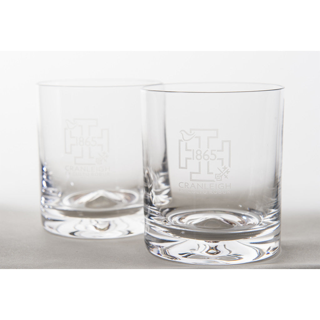 '1865' Dartington Whisky Glasses (Pair)