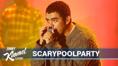 Scarypoolparty: Millenial Love, live on Jimmy Kimmel - video