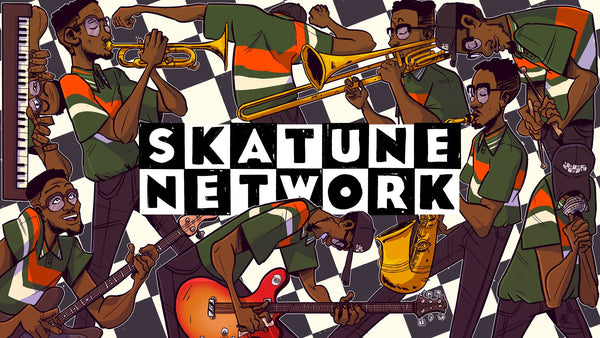 Skatune Network release cover of Minor Threat's 'Straight Edge' - VIDEO