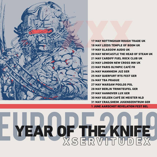 Year of the Knife drop X Servitude X from UK/EU tour following racism/homophobia accusations