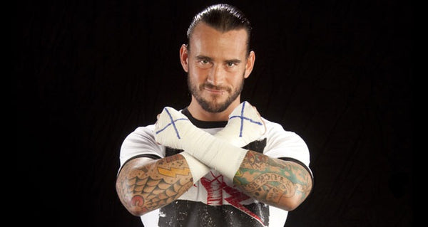Straight Edge wrestler CM Punk