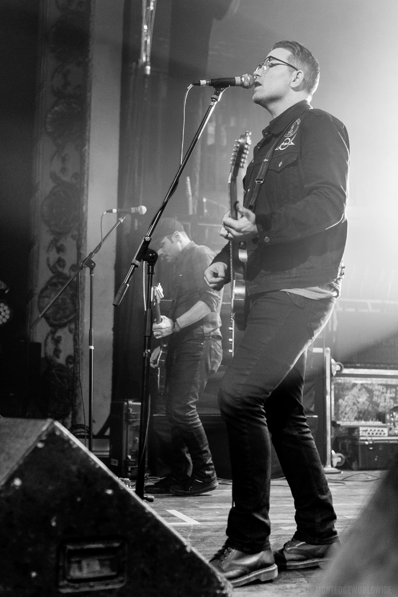 JT Woodruff of Hawthorne Heights, live at the Opera House in Toronto, December 16, 2018