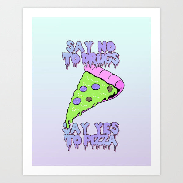 Say No To Drugs art print