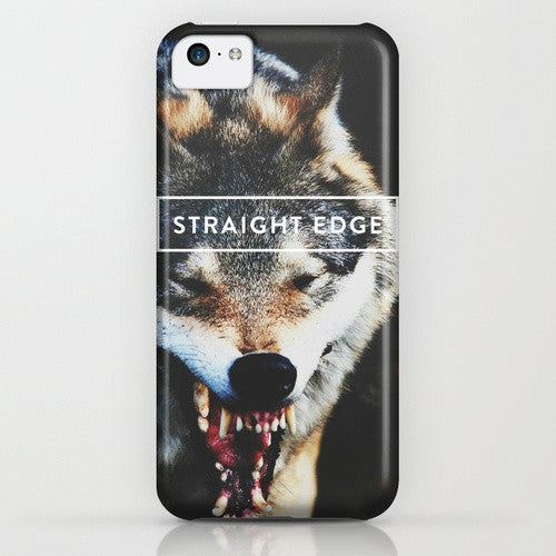Straight Edge iPhone Case