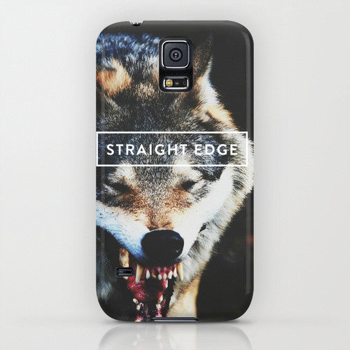 Straight Edge Phone Case by STRAIGHTEDGEWORLDWIDE