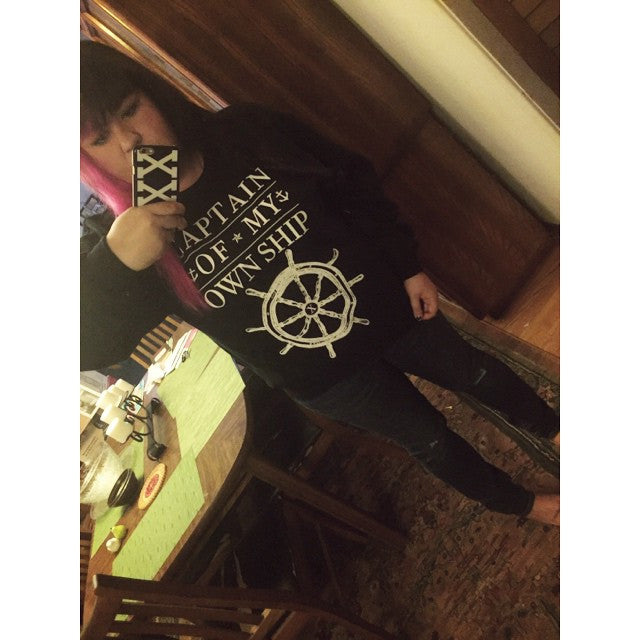Captain Of My Own Ship Sweatshirt