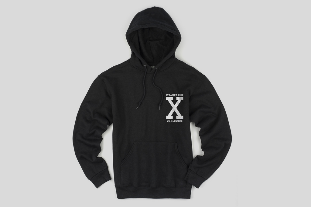 Anti Fascist Straight Edge Hoodie