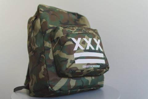Woodland Camo Backpack