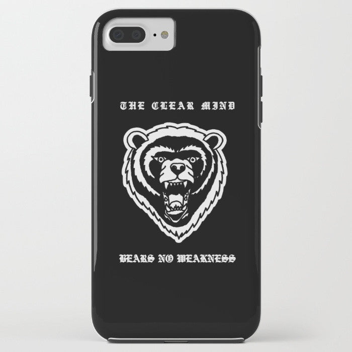 Bear No Weakness 2016 Phone Case