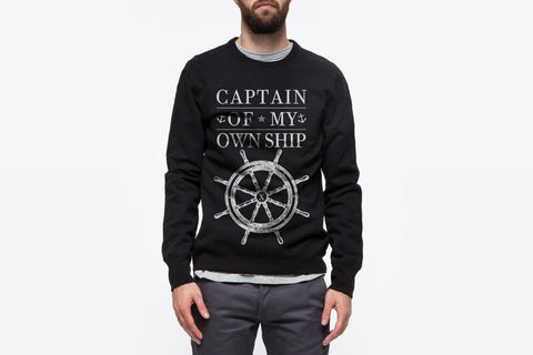 Captain Of My Own Ship Crewneck
