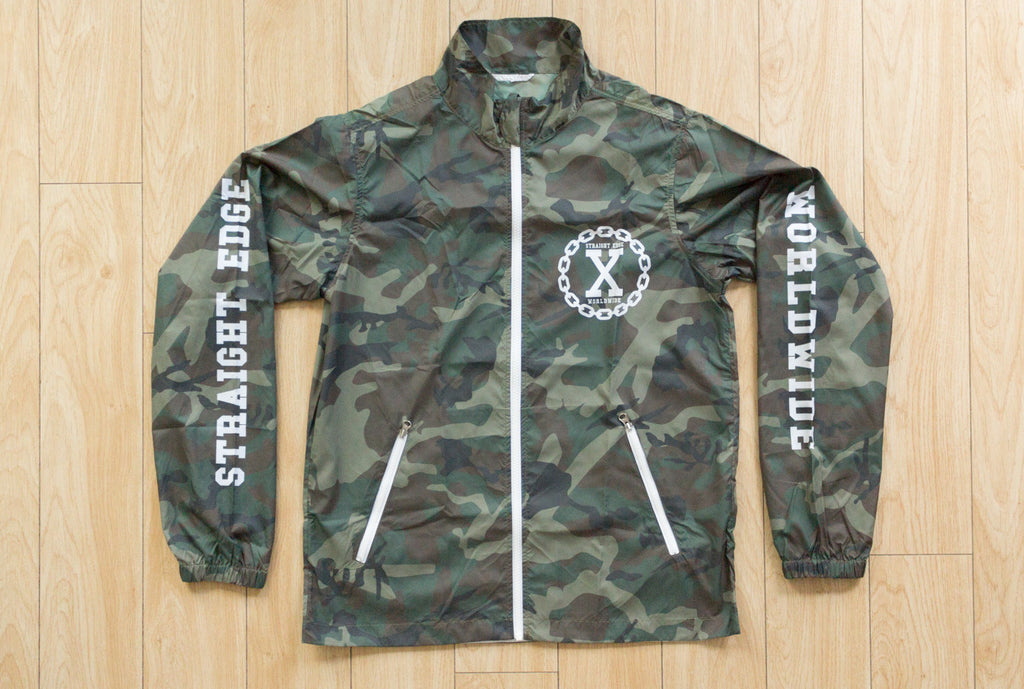 Camo Straight Edge Jacket