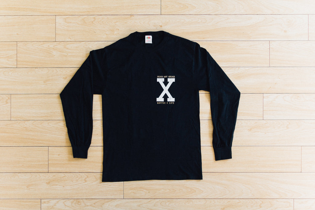 Coffee x Life Long Sleeve Tee