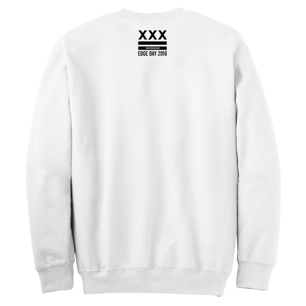 True Til Death Reaper Crewneck in White