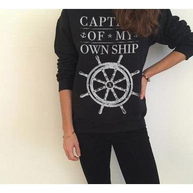 Captain Of My Own Ship Sweater