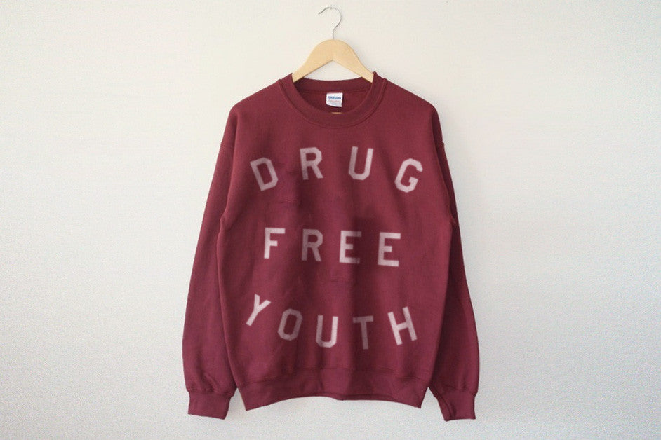 Drug Free sweater