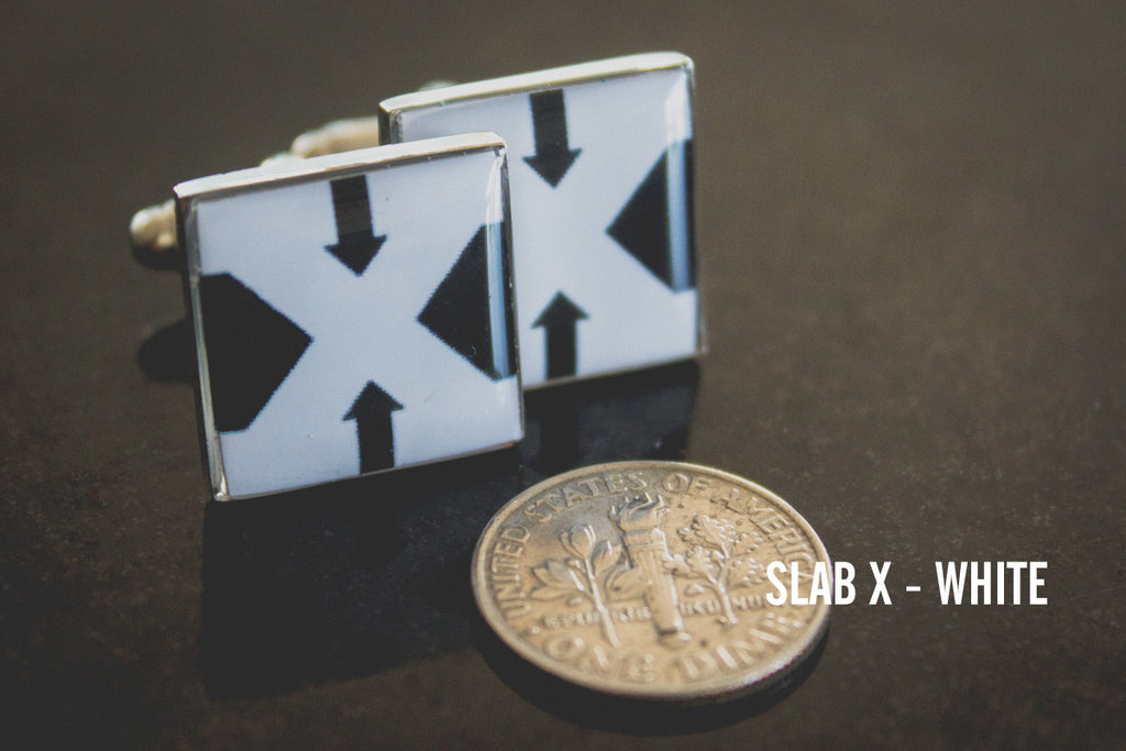 Straight Edge Cufflinks