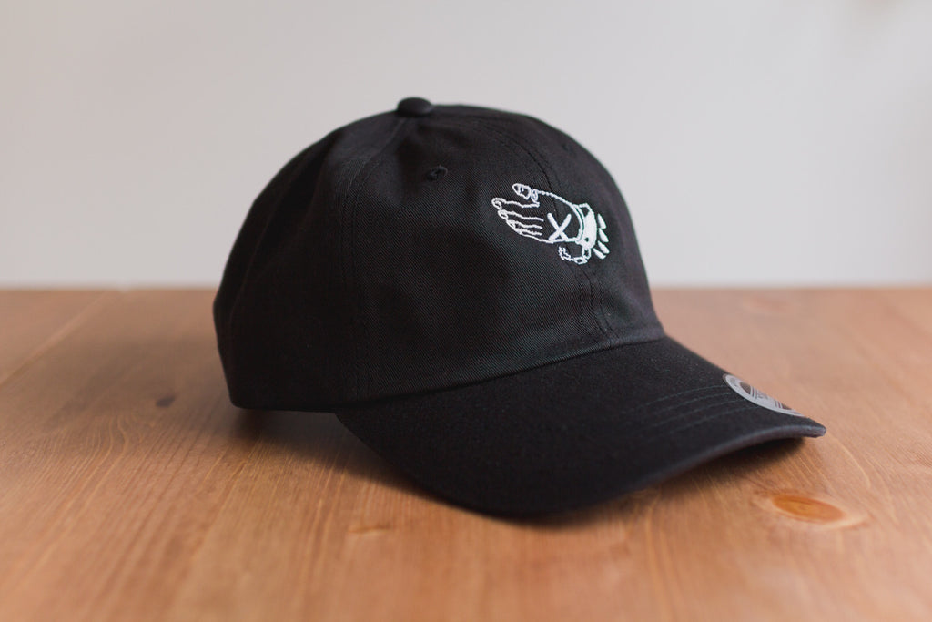 Straight edge strapback dad hat