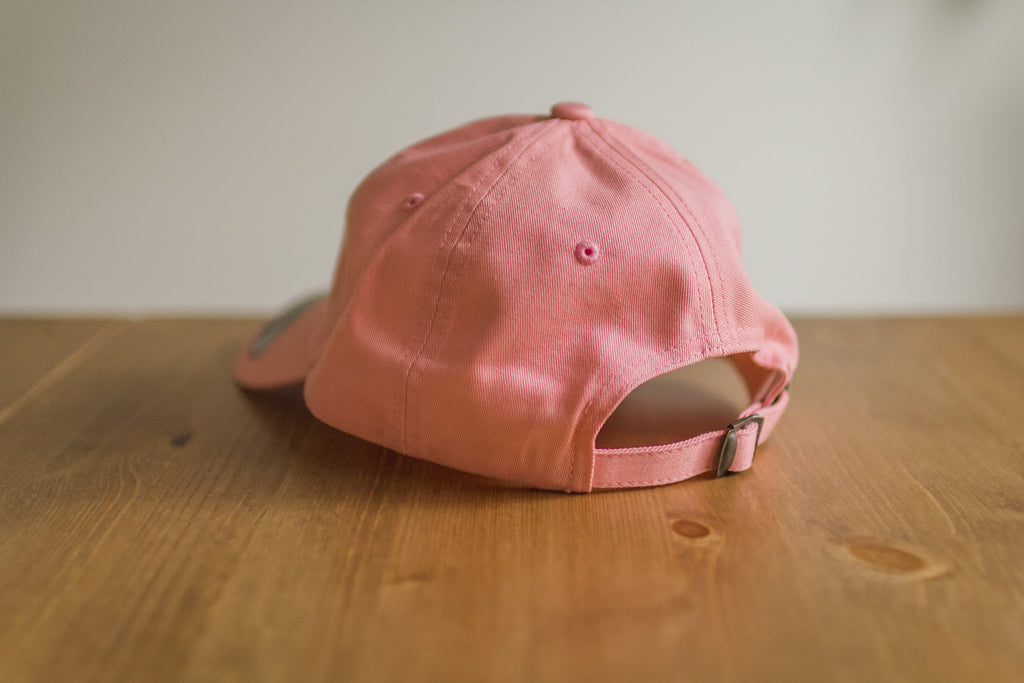 Commitment Dad Hat in Pink