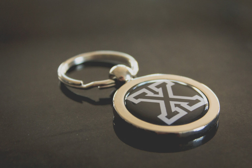 Straight Edge Keychain