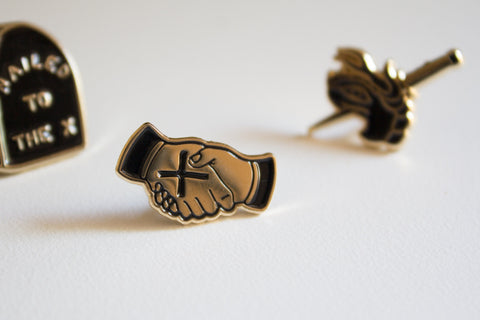 This Promise Lapel Pin