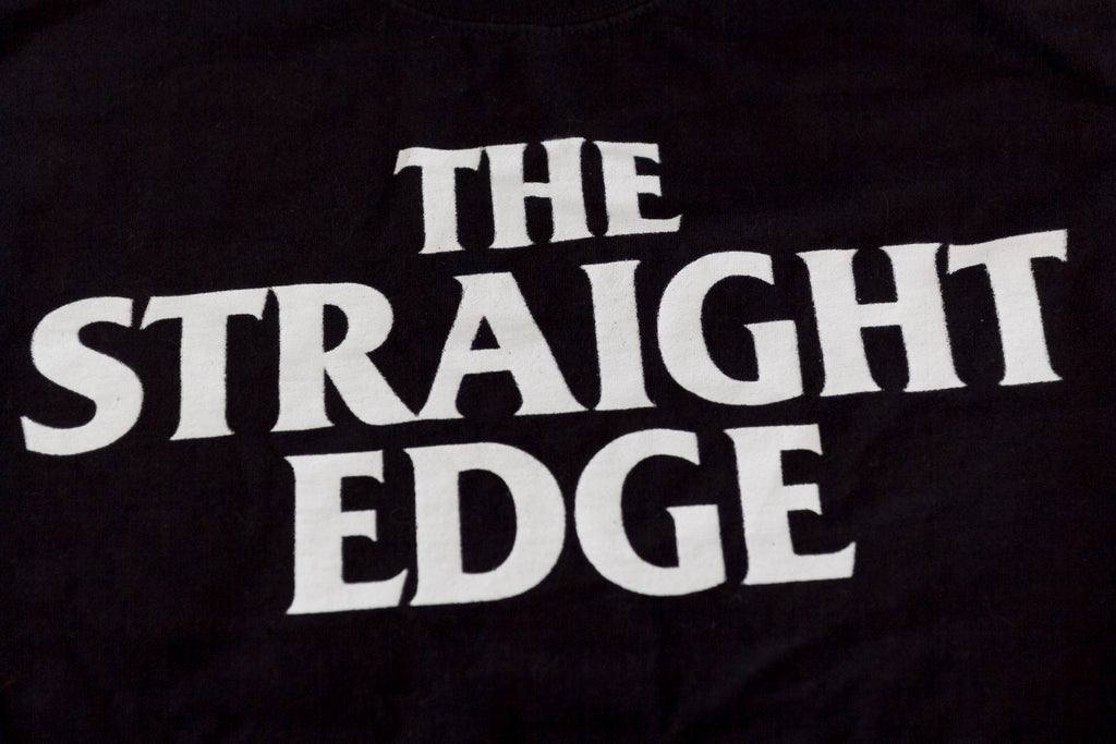 The Straight Edge Hoodie Hooded Sweatshirt by STRAIGHTEDGEWORLDWIDE