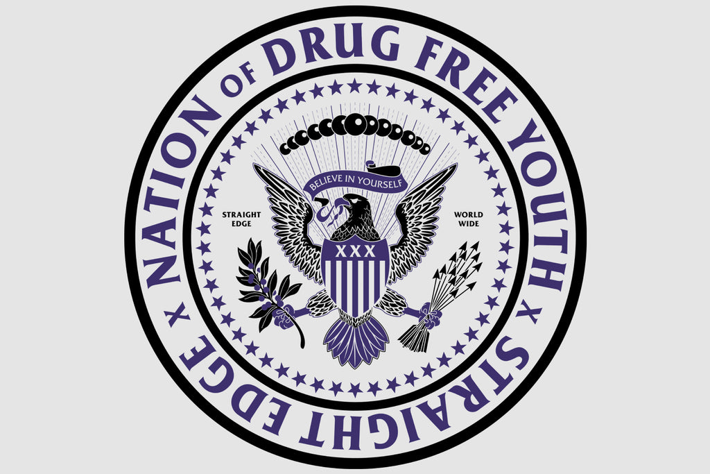 Nation of Drug Free Youth White Tee