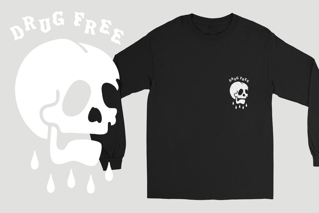 Rest In Pieces Long Sleeve Tee