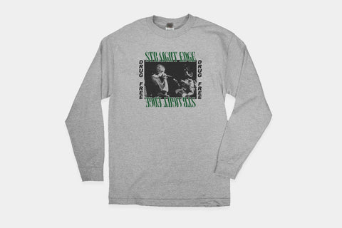 Straight Edge Long Sleeve Tee