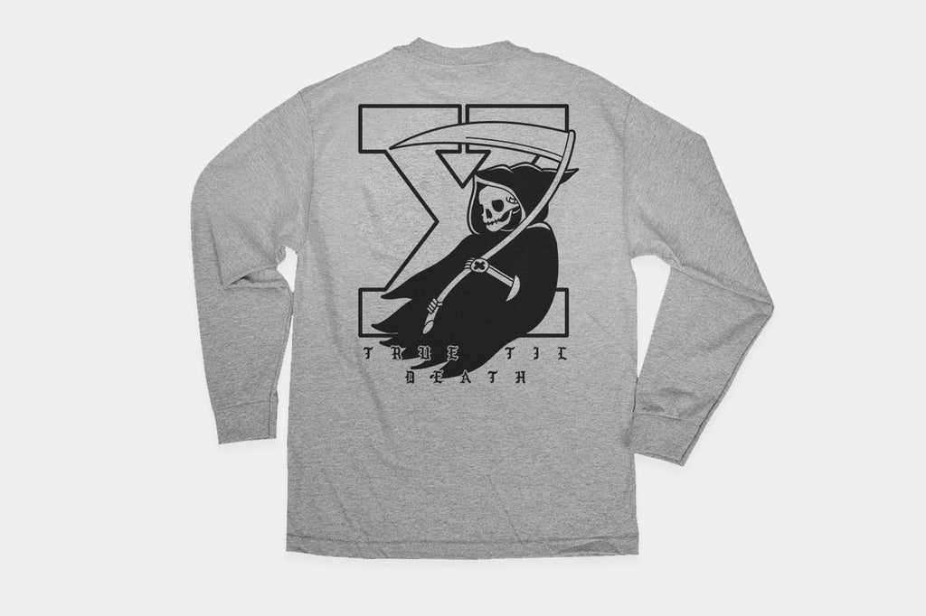 True Til Death Reaper Long Sleeve Tee