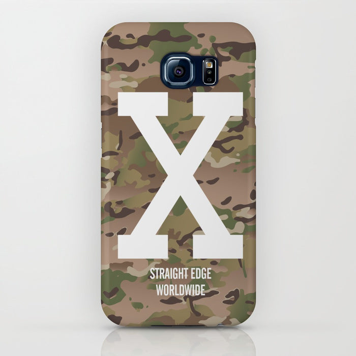 Multi Camo Straight Edge Phone Case