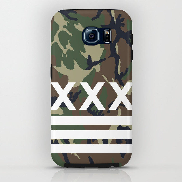 Straight Edge phone case in green camo by STRAIGHTEDGEWORLDWIDE