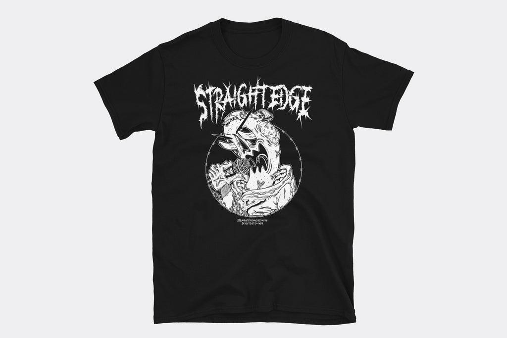 SkeletonToucher Straight Edge Tee