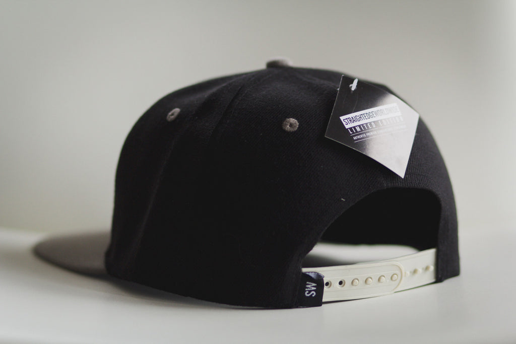 Drug Free Snapback in Black