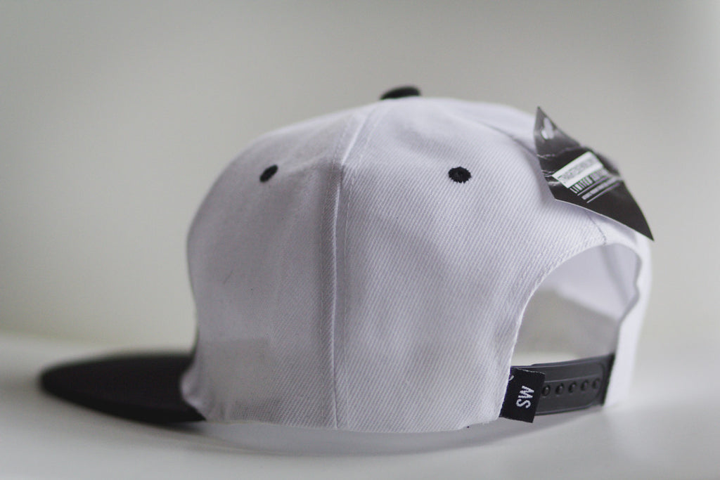 Drug Free Snapback in White