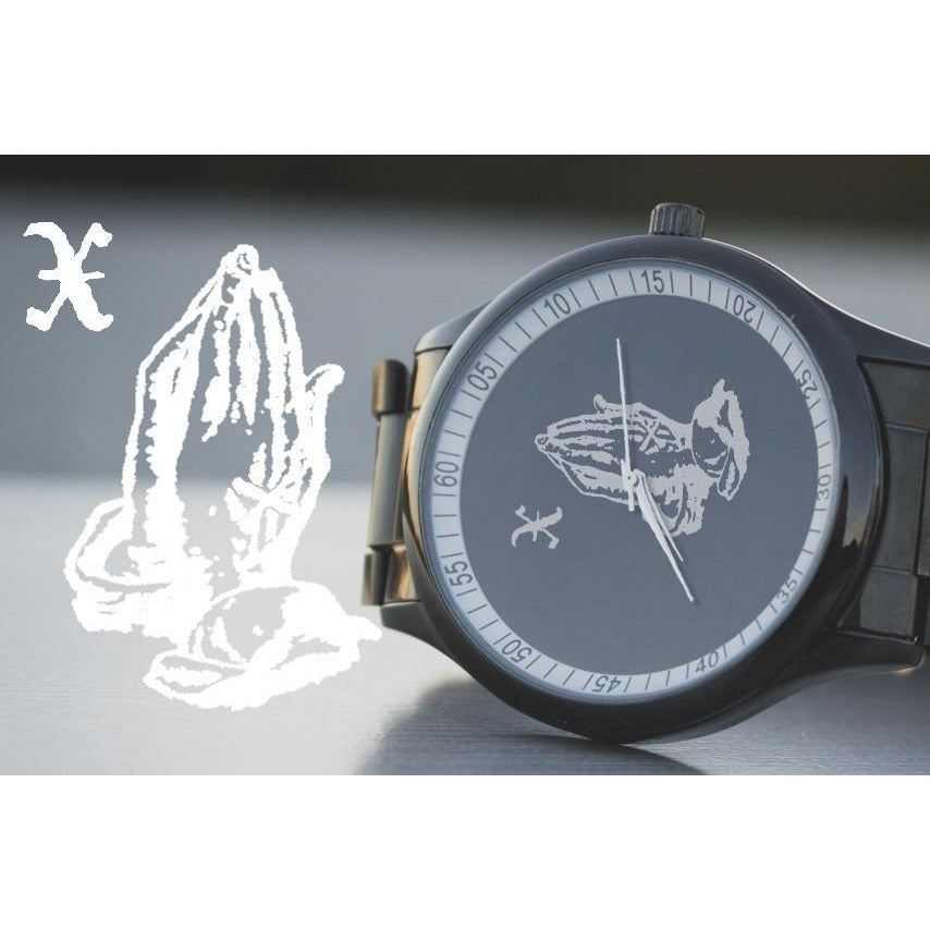 X God Black Stainless Steel Watch