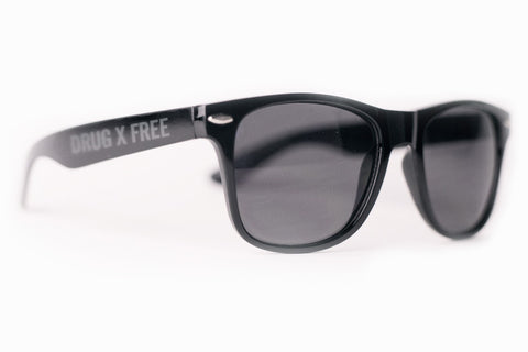 Drug Free / Straight Edge Sunglasses