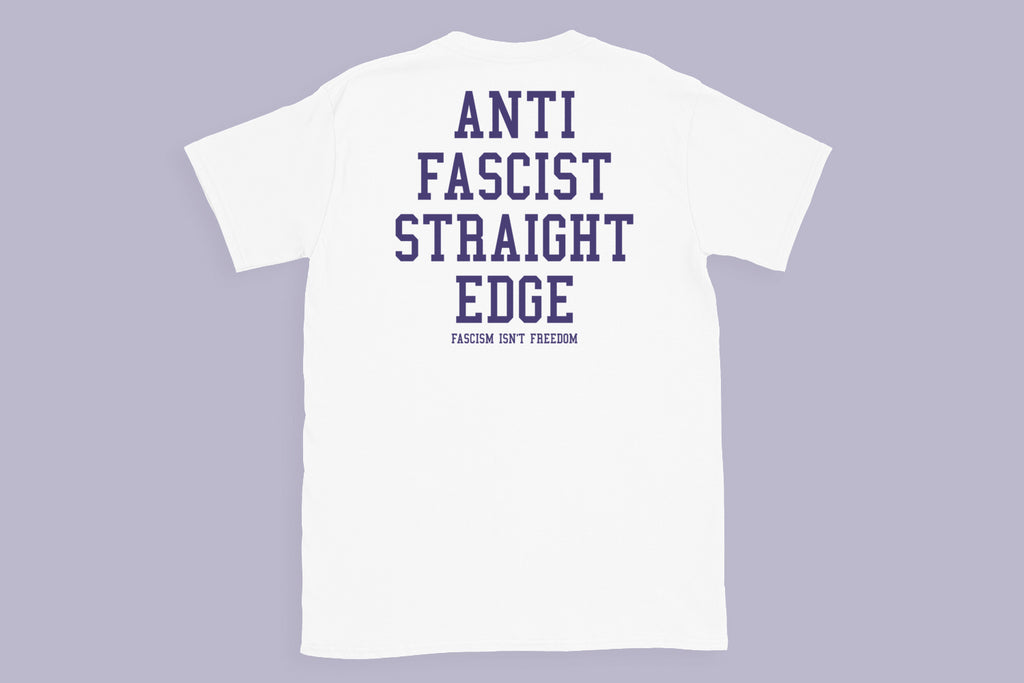 Anti Fascist Straight Edge Tee