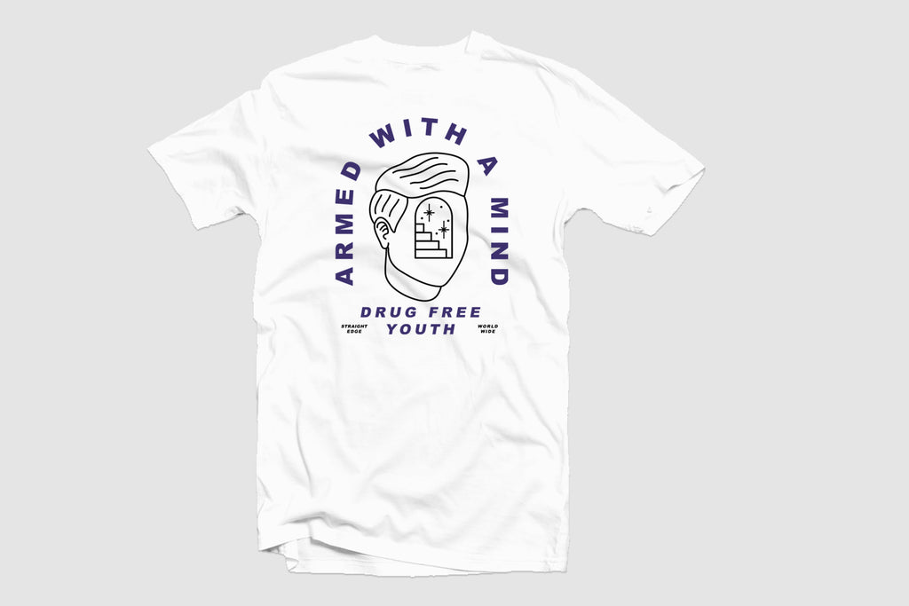 Armed With A Mind White Tee