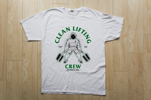 Ladies Clean Lifting Crew Tee