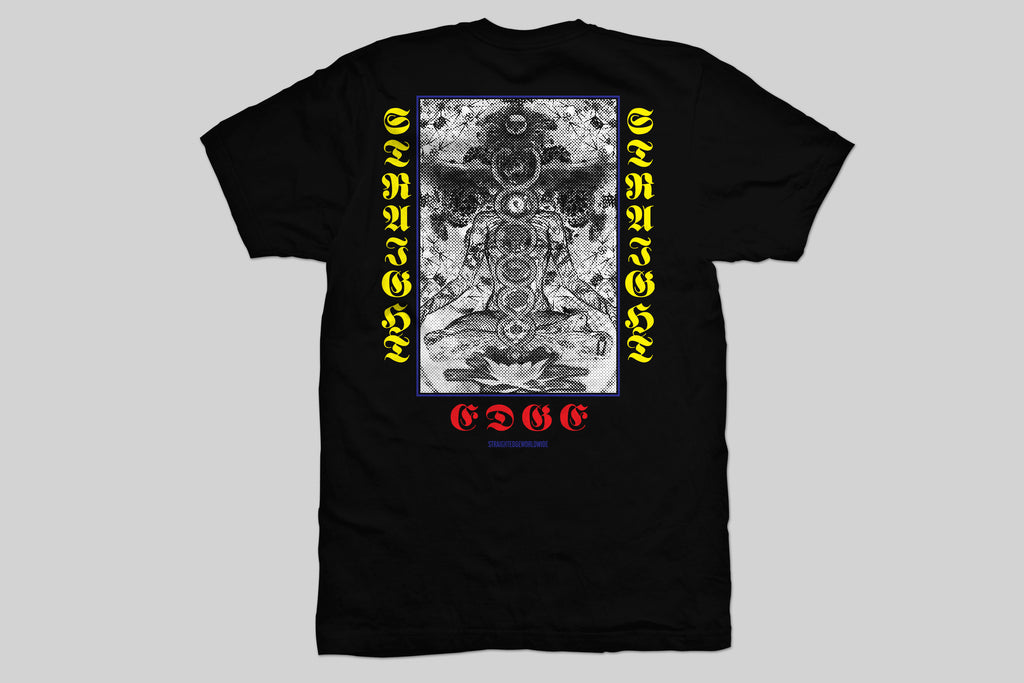 Higher Consciousness black Straight Edge tshirt by STRAIGHTEDGEWORLDWIDE