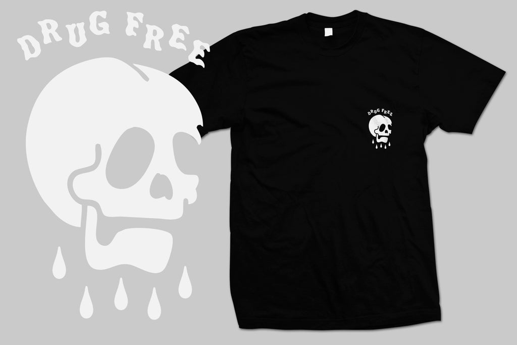 Rest In Pieces Drug Free Tee