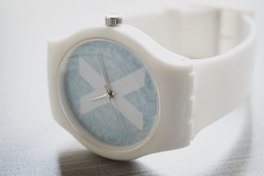 ladies straight edge watch