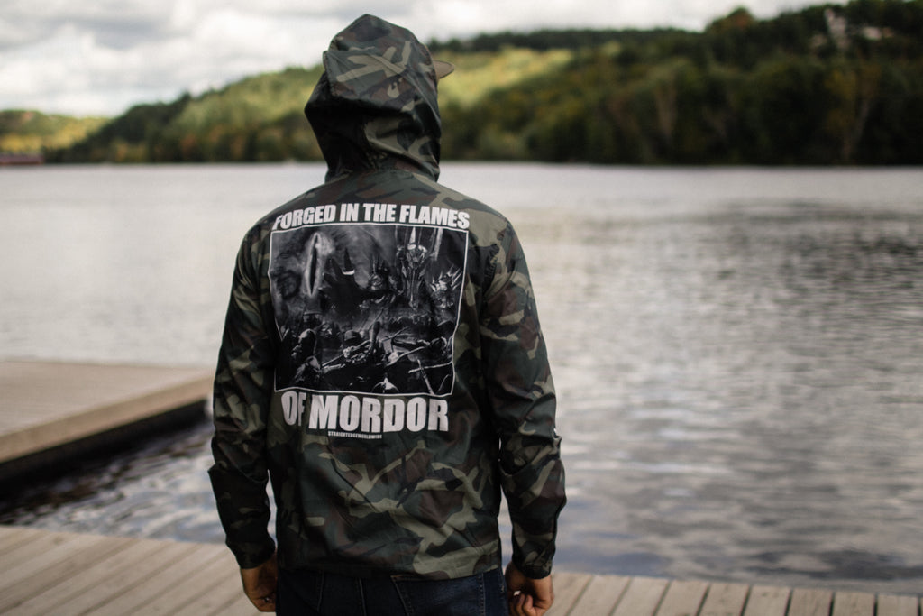 Middle Earth Crisis Windbreaker