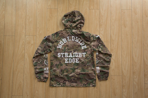Ladies Multi Camo Windbreaker